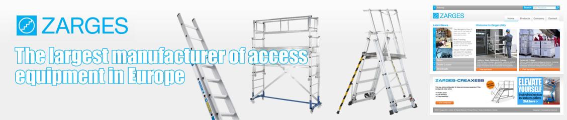 Zarges z300 Roof Ladder