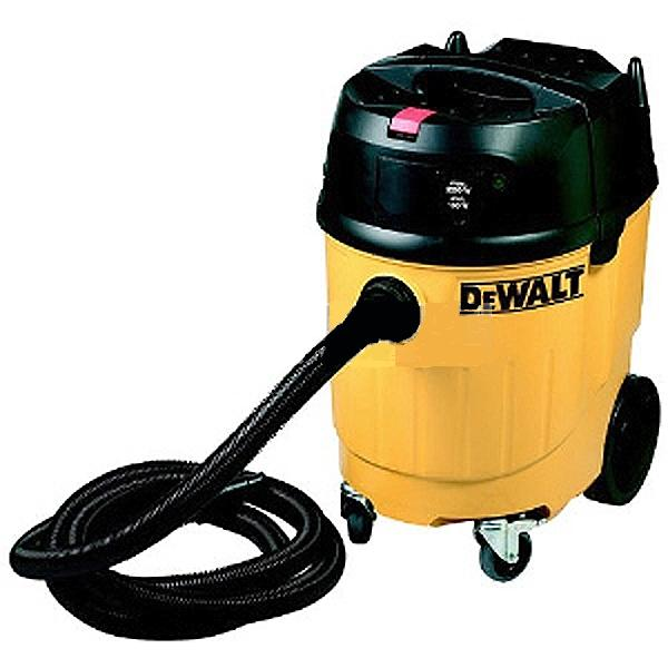 Dewalt d27902 1380w concrete dust extractor with filter for Cleaning concrete dust