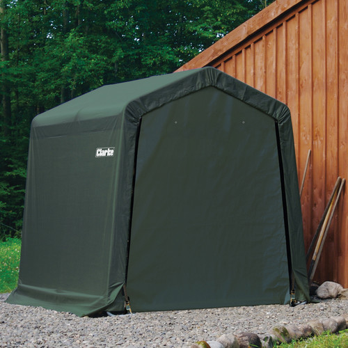 clarke cis612 instant motorcycle shelter shed 6x12ft product. Black Bedroom Furniture Sets. Home Design Ideas