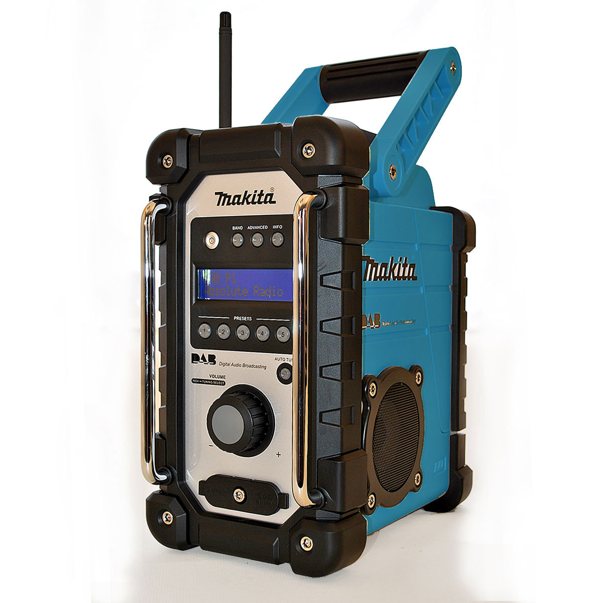 makita bmr104 job site radio with dab product. Black Bedroom Furniture Sets. Home Design Ideas
