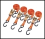 Clarke CHT758 4.5m Heavy Duty Ratcheting Tie Down (Pack Of Four)