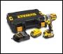 Dewalt DCD990M2 18V Cordless XR 3 Speed Brushless Drill Driver (2 x 4Ah Batteries)