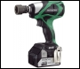Hitachi WR18DBDL/JW 18V Cordless li-ion Brushless Impact Wrench (2 x 4Ah Batteries)