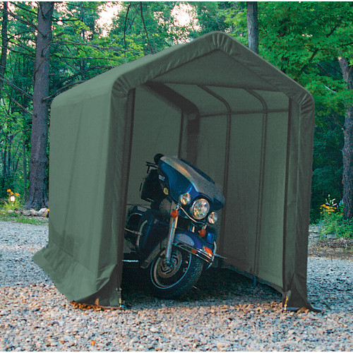 Portable Gas Detection >> Clarke CIS612 Instant Motorcycle Shelter/Shed 6x12ft » Product