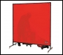 CLARKE HEAVY DUTY WELDING SCREEN 1.74M X 1.74M