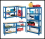 Clarke CSR5350BP Boltless Shelving Unit - 350Kg Blue