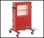 Clarke Devil 370P Quartz Halogen Infra-Red Heater (230v)