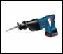 Bosch GSA18V-LI 18V li-ion Cordless Reciprocating Saw (2 x 4Ah Batteries) in L-Boxx