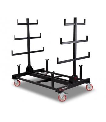 Armorgard Mobile Pipe Rack Certified 1 Tonne Capacity