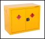 Armorgard Safestor, Hazardous Floor Cupboard 900x465x700 c/w 1 Shelf - Code HFC1