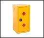 Armorgard Safestor, Hazardous Floor Cupboard 450x465x905 c/w 1 Shelf - Code HFC4