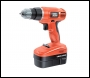 Black and Decker EPC188BK 18v 10mm Keyless VAriable Speed Cordless Drill with Torque and Hammer Settings