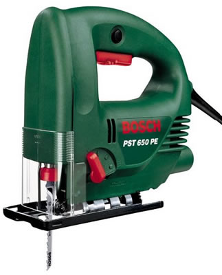 bosch green pst 650 pe jigsaw 240 volt only product. Black Bedroom Furniture Sets. Home Design Ideas