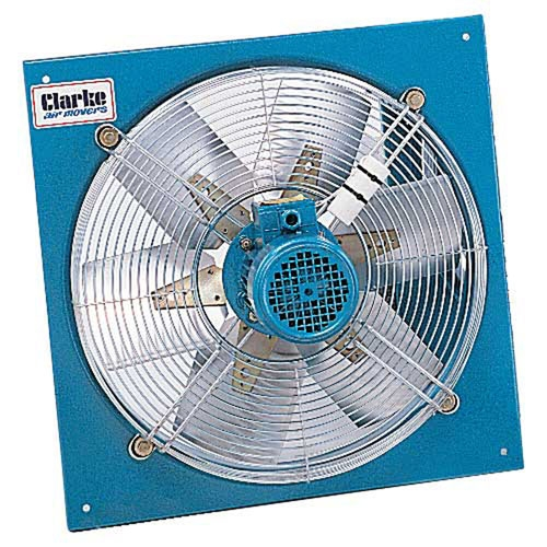 20 Axial Fan : Clarke caf mm quot h d axial plate fan product