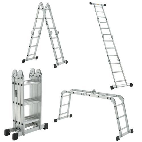 Clarke Aluminium Folding Ladder Fpl2 187 Product