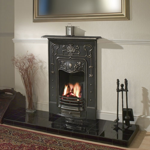 Cast In Place Chimney : Clarke gloucester cast iron fireplace product