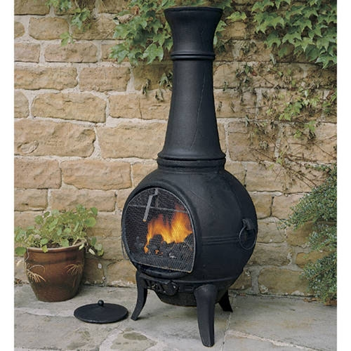 Clarke Classic Chiminea Outdoor Stove (Large) » Product