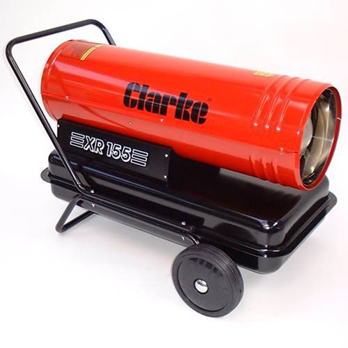 Industrial Blower Heaters : Clarke xr diesel paraffin fired space heater product