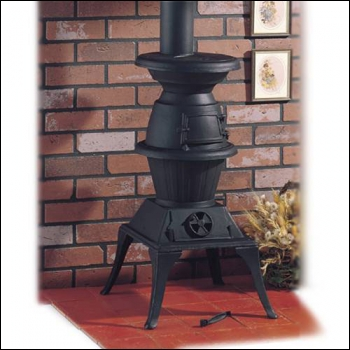 Clarke Potbelly Large Cast Iron Stove Product