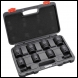 "Clarke CIS83/4M 8 Piece ¾"" Square Drive Impact Socket Set - Metric - Code 1800370"