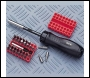 Clarke CHT 343 34-Pce Gearless Screwdriver Kit