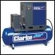 Clarke CXR15RD 15HP Industrial Screw Compressor with Air Receiver & Dryer - Code 2456585