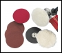 Clarke CHT180mm Sander / Polisher Accessory Kit