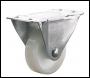 Clarke ML486RW 100mm Fixed Castor - White Nylon