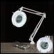 Clarke SAM100B Desk Mounted Magnifying Lamp - Code 5460532