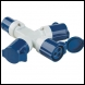 Clarke GAP2 3-Way Generator Adaptor Plug