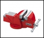 Clarke  CV4RB 100mm Workshop Vice (Fixed Base, Red)