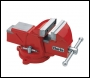 Clarke  CVR5RB 125mm Workshop Vice (Swivel Base, Red)