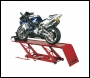 Clarke CML3Air - Air & Foot Pedal Operated Hydraulic Motorcycle Lift