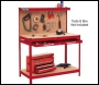 Clarke CWB - R1 Workbench (Red)