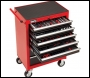 Clarke PRO396 222 Piece Tool Set With 7 Drawer Tool Cabinet