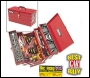Clarke CHT641 - 199 Pce DIY Tool Kit with Cantilever Tool Box
