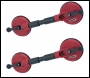 Clarke CHT707 Twin Head Suction Lifter (pair)