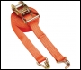 Clarke CHT869 Heavy Duty 6m Ratchet Strap with Double Hooks