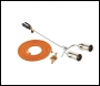 Clarke PLK1074 700mm Twin Burner Gas Torch Kit