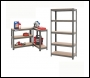 Clarke CSR5350B Boltless Shelving Unit - 350Kg Dark Grey