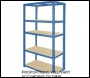 Clarke CSR5100BL Heavy Duty Boltless Shelving -100KG (Blue)
