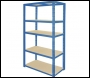 Clarke CSR5175/30BL Heavy Duty Boltless Shelving (Blue) 175kg