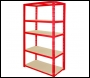 Clarke CSR5175/30RP Heavy Duty Boltless Shelving (Red) 175kg