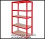 Clarke CSR5175/45RP Shelving (Red) 175kg