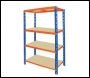 Clarke CSR4550/50BO Heavy Duty Boltless Shelving 550kg (Blue & Orange)