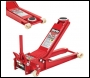 Clarke CTJ1500QULP Ultra Low Profile 1.5T Quick Lift Trolley Jack