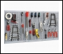 Clarke CWR45C - Wall Storage Pegboard Set