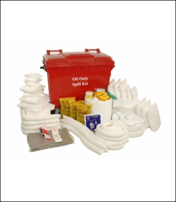 Clearspill 660L Oil Only Wheeled Spill Kit - OK10 » Product