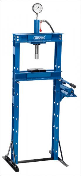 Draper 10 Tonne Hydraulic Floor Press Pack Qty 1 Code