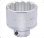 DRAPER 60mm 3/4 inch  Square Drive Elora Bi-Hexagon Socket - Pack Qty 1 - Code: 00905